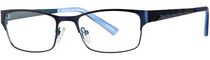 Minimize Women's M5961 Purple/Blue Eyeglass Frame