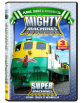 Mighty Machines - Planes, Trains, and Automobiles (Bilingual)