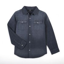 George Boys' Long Sleeved Denim Shirt 6