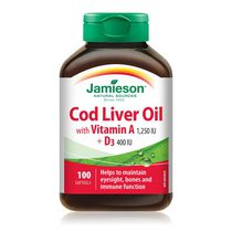 Jamieson Cod Liver Oil Softgels