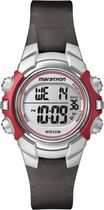 Marathon® By Timex® Coral/Gray Case and Black Resin Strap Digital Full-Size Watch