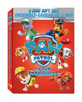Film, PAW Patrol – 3 DVD Gift Set