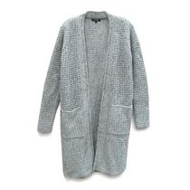 George Women's Long Sleeve Cardigan Grey XS