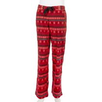 George  Women's Flannel Pyjama Pant Red L/G