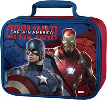 Genuine Thermos Brand Captain America Soft Lunch Kit