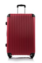 Champs Tourist Collection Hardside Spinner Luggage Case Set of 3 Red