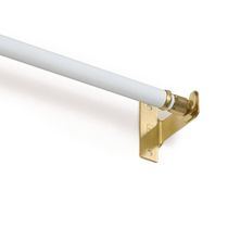 "Mainstays Tier Rod 48-84"" - White"