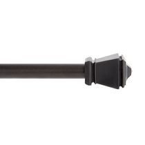 "Mainstays Café Rod 48-84"" - Black"