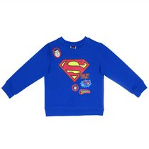 Superman Toddler Boys Long Sleeves Crew Neck Sweater 2T