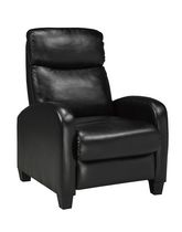 Brassex Black Push Back Recliner - 8628BK