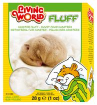 Living World Hamster Fluff, 28g