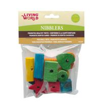 Living World Nibblers Wood Chews, 12 Pack