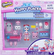 Ens. de bienvenue Miniature Decor Sélection Surprise Happy Places de Shopkins