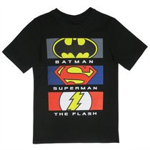 Justice League Boys Short Sleeve Tee Shirt 10-12