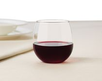 STEMLESS RED WINE SET/4