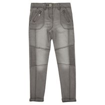 George British Design Girls' Grey Biker Jean 10