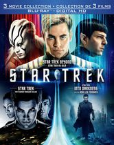 Star Trek Collection De 3 Films : Star Trek XI / Star Trek : Vers Les Ténèbres / Star Trek Au-delà (Blu-ray + HD Numérique) (Bilingue)