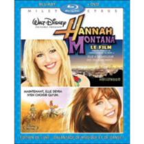 Hannah Montana: The Movie (Blu-ray + DVD) (French Edition)