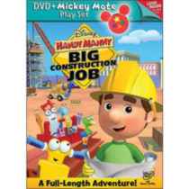 Handy Manny: Big Construction Job (With Mickey Mote Toy)