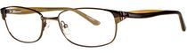 Image Café Women's IC5819 Brown Eyeglass Frame