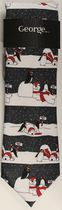 George Polar Bear North Pole Xmas Tie
