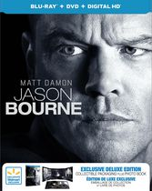 Jason Bourne (Blu-ray + DVD + Digital HD + Livre de photos) (Exclusivité Walmart) (Bilingue)