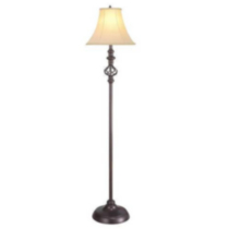 Iron Cage Floor Lamp