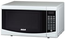RCA - 0.7 Cubic Foot Microwave White