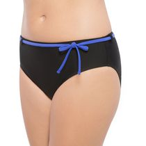 Krista Swim High Waist Bottom With Sash Royal Large
