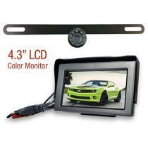 License Plate Wired Rear View Camera