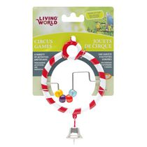 Living World Circus Bird Toy, Abacus, Red