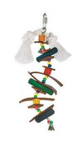 Living World Juglewood Peg and Bead, Bird Toy