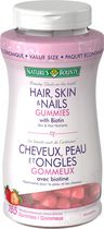 Nature's Bounty Hair Skin, Nails Gummies with Biotin, 165 Gummies