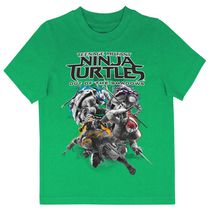 Teenage Mutant Ninja Turtles Boys' Printed Short Sleeve T-Shirt L(14)