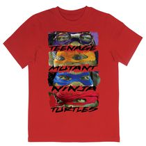 Teenage Mutant Ninja Turtles Boys' Short Sleeve Crew Neck T-Shirt