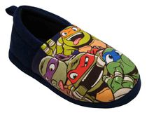 Teenage Mutant Ninja Turtles Big Boys' Slippers 2-3