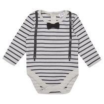 George British Design Baby Boys' Braces Bodysuit 18-24 months