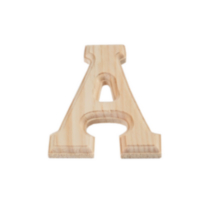 "Wood letter ""A"""