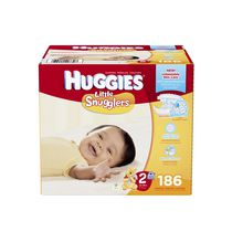 Huggies Couches Little Snugglers Economy Plus Taille 2