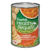 Campbell's® Healthy Request Gluten Free Curried Cauliflower Lentil Soup