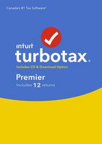 TurboTax Premier 2016, 12 returns, Bilingual
