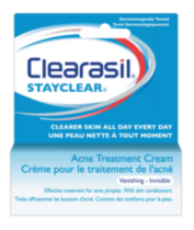 Clearasil® StayClear® Acne Treatment Cream - Vanishing