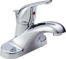 Peerless® Chrome Single Handle Centerset Lavatory Faucet