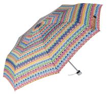 Weather Station Super Mini Tribal Motif Full Arc 42 Inch  Umbrella