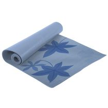 Everlast Printed 6mm Thick Yoga Mat with Mesh Carry Bag Blue