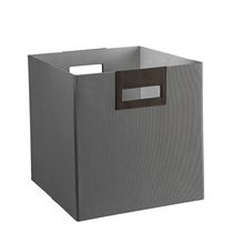 Polyester Fabric Bin - Grey