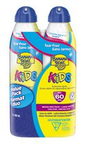 Banana Boat Kids Tear Free Ultramist SPF 60 Sunscreen Clear Spray Value Pack