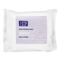 CLEAN & CLEAR® Make-up Dissolving Facial Cleansing Wipes, 25 Count