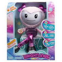 Peluche interactive Brightlings de 15 po (38 cm) en rose