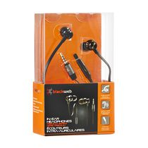 blackweb In-ear Headphones Premium Series Black